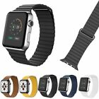 Leather Magnetic Loop Band Strap for Apple Watch Series 1 / 2 / 3 / 4 / 5 image