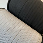 "Elastic Trim 1/8"" 3/16"" 7/32"" 1/4"" 3/8"" 1/2"" inch Black/White for Sewing"