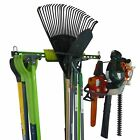 Garden tool wall storage for sheds and garages. Garden Tool Organiser. UK made