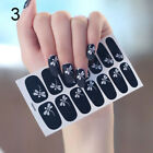 Detachable Full Cover Fake Nail Tips with Glue Sticker Dragonfly Nail Decals
