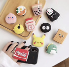 Cute Universal Phone Ring Grip Finger Hold Boba Yakult Stand Dino Food Fun $8.0  on eBay