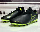 Nike Phantom Vision Pro DF FG Men's Soccer Cleat Black Volt AO3266-007 All Sizes
