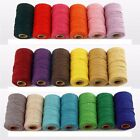 Handmade Home Decor Cotton Cords Twine String DIY Rope Packing Craft Projects