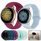 For Samsung Galaxy Watch Active 2 40 42 44mm Band Silicone Sport Bracelet Strap image