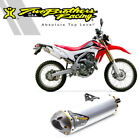 Two Brothers Honda CRF250L 2013 Stainless/Aluminum Slip-On Exhaust M-7 V.A.L.E.