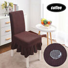 Removable Stretch Elastic Chair Cover Protector With Skirt Restaurant Wedding
