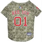 Boston Red Sox Pet Camo Jersey from StayGoldenDoodle.com