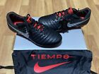 Nike ACC Tiempo Legend 7 VII Elite FG Soccer Black Cleats AH7238-006 MSRP $230