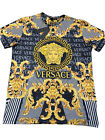 Summer '20 New With Tags Men's VERSACE T-SHIRT Slim Fit Size M to 3XL