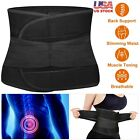 Kyпить US Adjustable Double Pull Lumbar Support Lower Waist Back Belt Brace Pain Relief на еВаy.соm