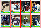 VANCOUVER CANUCKS 1974-75 High Grade Custom Made NHL Hockey Cards U-Pick THICK $2.4 CAD on eBay
