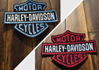 Patch Iron-On Harley-Davidson Logo Motorcycle Logo Letters Applique $6.0 USD on eBay