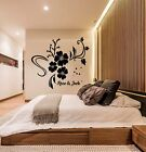 Personalised 3d 3d Wall Decoration Acrylic Flower Decal Mural Home Room Sticker