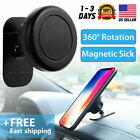 360° Magnetic Car Mount Holder Stand Stick On Dashboard For iphone 11 Pro Max US