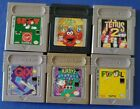 Game Boy Games, Game Only, Original. You Pick