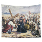 Jesus Christ Tapestry Wall Hanging Tablecloth Home Dorm Art Decoration