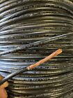 THHN 6 AWG Gauge Black Nylon pvc Stranded Copper Building Wire 25' 50' 75' 100'