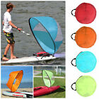 Foldable Kayak Boat Wind Sail Sup Paddle Board Sailing Windpaddle Sailboat 42""