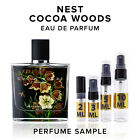 Nest Cocoa Woods EDP Perfume Sample Vial Travel Size Purse Pocket Spray Mini