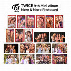 TWICE 9th Mini Album More And More Official Photocard Unit And Group K-POP KPOP