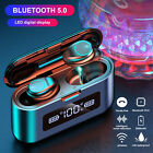 2020 Touch TWS Wireless Bluetooth 5.0 Earbuds Headset Headphone Noise Cancelling