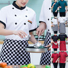 Unisex Kitchen Chef Jacket Shirts Catering Tops Short Sleeve Work Wear Uniform