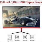 PC Monitor Full HD Curved Screen 23.8In 1920x1080P For Computer LED Display FS0