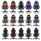 Office Chair PU Leather Swivel Chair Tilt Chair Executive Racing Gaming Computer