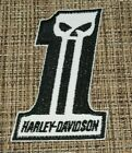 Patch Iron-On Harley-Davidson Motorcycle Logo Patriotic Number 1 Embroidery $8.0 USD on eBay