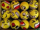 Emoji Stress Reliever Balls, Sensory Toys, Squishy, Squeezable NEW Emoticon $6.33 USD on eBay