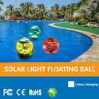1-6x Solar Powered Floating Pond Light Swimming Pool Color Changing LED Lamp US $32.29 USD on eBay