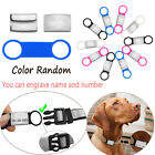Tensile Rubber Pet Nameplate Dog Cat ID Tag Anti Lost Device Puppy Protect