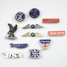VTG Motorcycle Pin DUCATI BSA BMW TRIUMPH CZ ČZ Wings Shield Logo MC Jacket NOS $7.99 USD on eBay