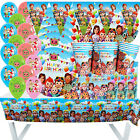 Kyпить COCOMELON BABY BUM CUPCAKE BALLOON CUP PLATE PARTY BANNER DECORATION TABLE COVER на еВаy.соm