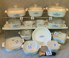 Kyпить CHOICE Vintage Corningware Blue Cornflower Bakeware Estate Lot Beautiful MCM на еВаy.соm
