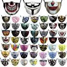 Adult Unisex Protective Filters Hip-hop Party V Guy Fawkes Halloween Face Masks