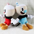 Kyпить 10'' Cuphead Game Plush Toy Cuphead & Mugman Mecup And Brocup Lovely Doll US! на еВаy.соm