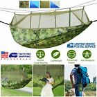 Hammock Mosquito Net Camping Traveling Parachute Hanging Bed Tent Swing Chair