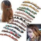 Fashion Women Boho Hair Accessories Crystal Hairpin Hair Clip Barrette Wedding