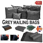 Grey Mailing Bags Plastic Mail Polythene Post Postage Strong Envelopes Self Seal