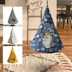 Removable Cat Hanging House Conical Tent For Cat Pet Washable Hammock Dog a