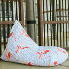Outdoor bean bags, Flamingos white bean bag chair + waterproof inner case