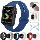 Strap For Apple Watch Silicone Comfortable Durable Waterproof Band