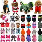 Pet Dog Cat Warm Clothes Puppy Hoodie Jumper Hooded Coat Sweater Apparel Costume