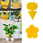 Insect Butterfly Flower Type Double-sided Yellow Thick Insect Sticky Trap E3v3