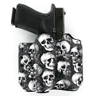 OWB Kydex Holster for Hanguns with Crimson Trace CMR 208 - MULTI SKULLS