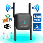1200Mbps WiFi Extender Signal Range Booster Wireless Dual Band Network Repeater