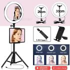 """12"""" Ring Light LED Lamp with Tripod Stand Phone Tablet Holder For YouTube Video"""