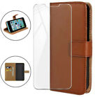 Luxury Wallet Leather Flip Case Tempered Glass For Doogee N10 N20 X50L S90 S80