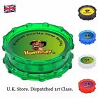 Grinder Plastic Large 2 Layers 70mm Sharp Shark Teeth Honeypuff Herb UK Shop